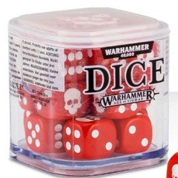 Dice Cube Red