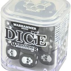 Dice Cube Grey