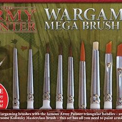 Army Painter Wargames Mega Brush Set