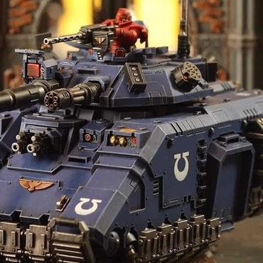 Space Marine Repulsor Executioner