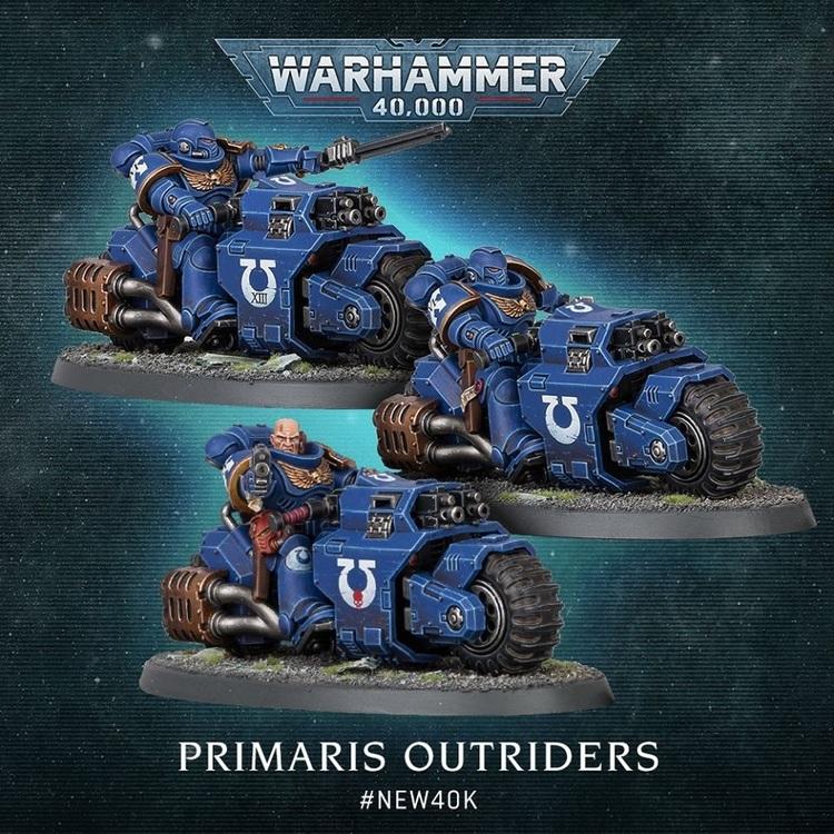 Space Marine Primaris Outriders