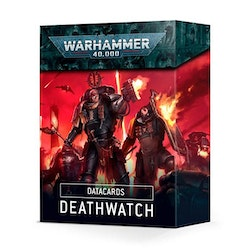 Space Marine Deathwatch Datacards