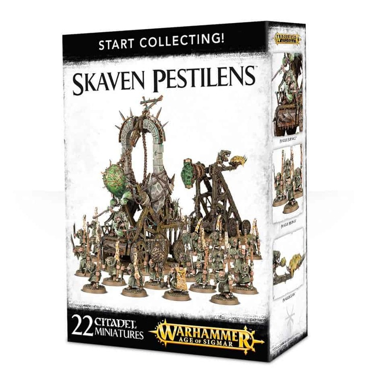 Start Collecting Skaven Pestilens