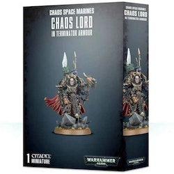 Chaos Lord In Terminator Armour