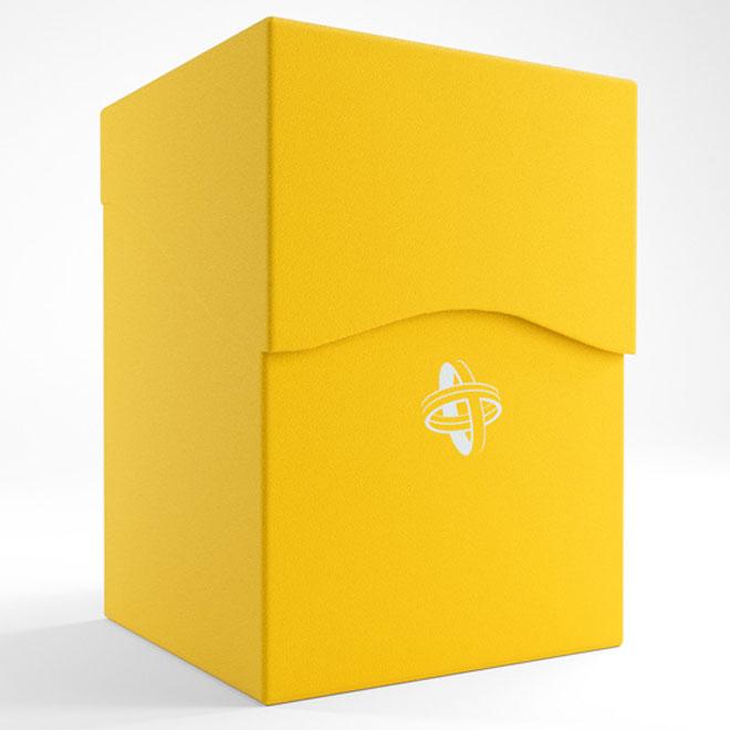 GameGenic Deck Holder 100+ Deck Box Yellow