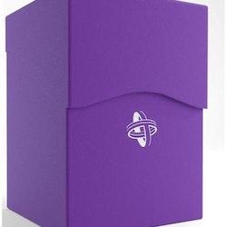 GameGenic Deck Holder 100+ Deck Box Purplu
