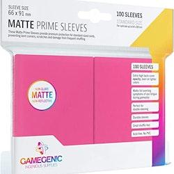 Game Genic Matte Prime Sleeves Pink