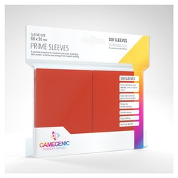 Game Genic Matte Prime Sleeves Red