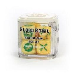 Blood Bowl Halfling Team Dice Set