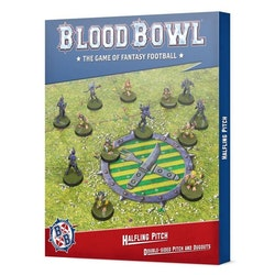 Blood Bowl Halfling Pitch: Double-sided Pitch and Dugouts