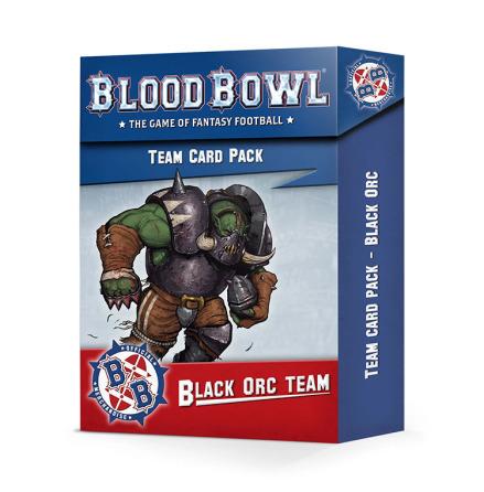 BLOOD BOWL: BLACK ORC TEAM  CARD PACK