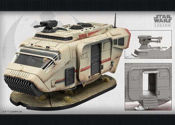 Star Wars: Legion - A-A5 Speeder Truck