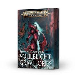 WARSCROLLS cards SOULBLIGHT GRAVELORDS (ENG)