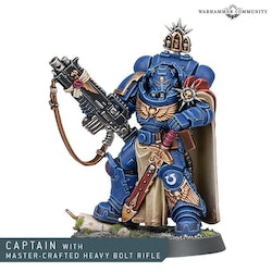 Space Marine Captain MASTER-CRAFTED BOLT RIFLE