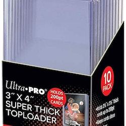 "Toploader 3x4""(10) Super Thick"