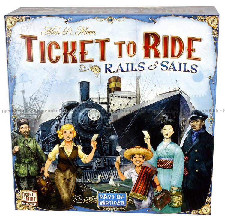 Ticket To Ride Rails & Sails Nordic