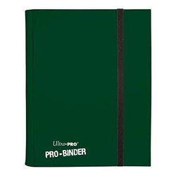 Binder PRO 9-Pocket Jet Green