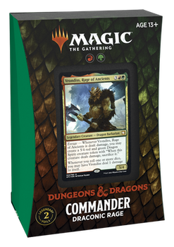 Dungeions and Dragons Commander Draconinc Rage
