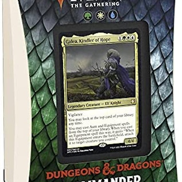 Dungeons and Dragons Commander Aura Of Courage