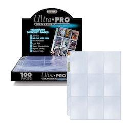 9-Pocket Pages Platinum Black 100ST