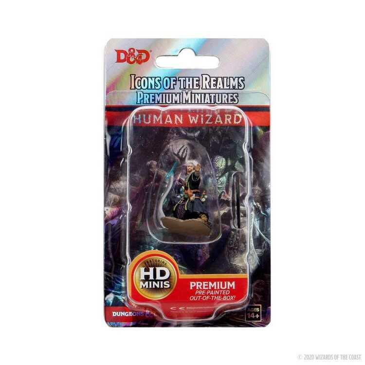 D&D Human Wizard HD