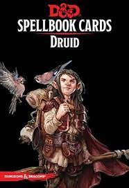 D&D 5th Spell Deck Druid
