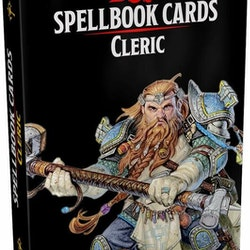 D&D 5th Spell Deck Cleric