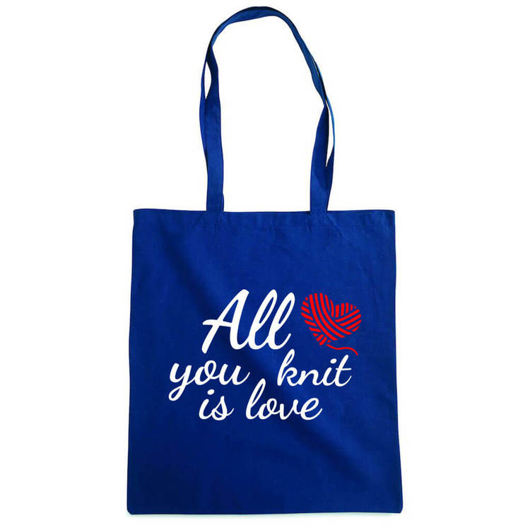 All you knit is love bærenett marine