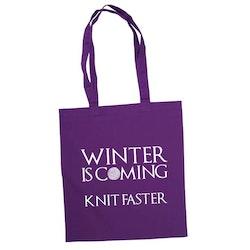 Winter is coming knit faster bærenett