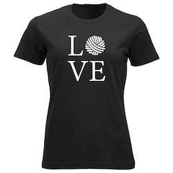 LOVE klassisk t-skjorte dame