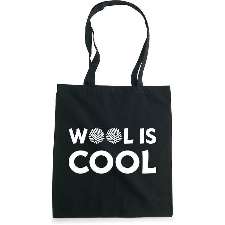 Wool is cool bærenett sort