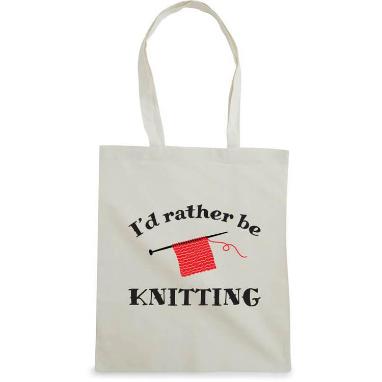 I'd rather be knitting bærenett natur