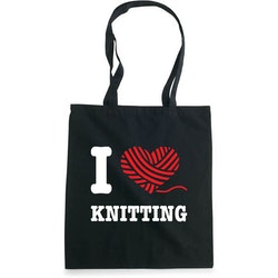 I love knitting bærenett