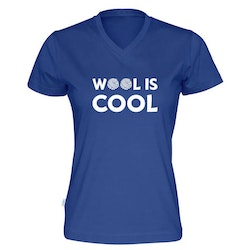 Wool is cool v-hals t-skjorte dame