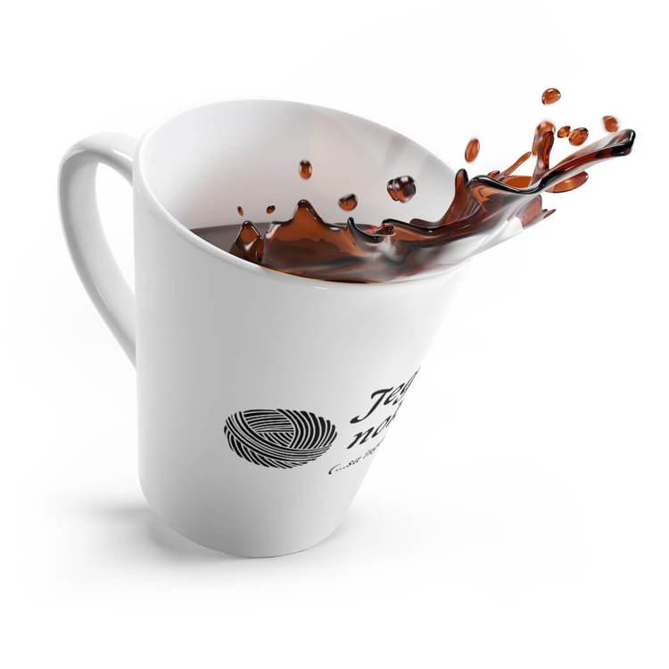 Jeg har nok garn lattekrus kaffe