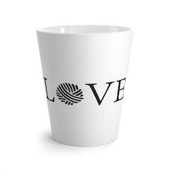 LOVE lattekrus