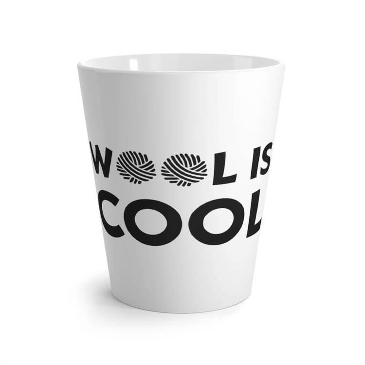 Wool is cool lattekrus front