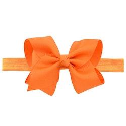 Hårband - Fairy Bow Orange