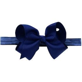 Hårband - Fairy Bow Midnight Blue