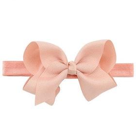 Hårband - Fairy Bow Dusty Pink