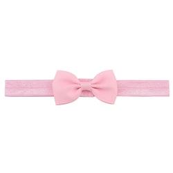 Hårband - Grace Bow Baby Pink