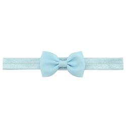 Hårband - Grace Bow Baby Blue