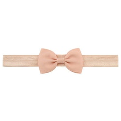 Hårband - Grace Bow Dusty Pink