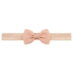 Hårband - Grace Bow Dusty Pink