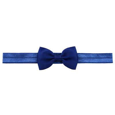 Hårband - Grace Bow Midnight Blue