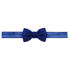 Hårband - Grace Bow Midnight Blue