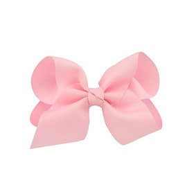 Hårklämma - Fancy Bow Baby Pink