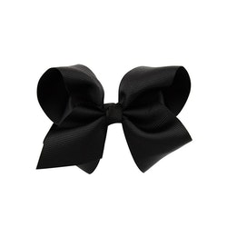 Hårklämma - Fancy Bow Black
