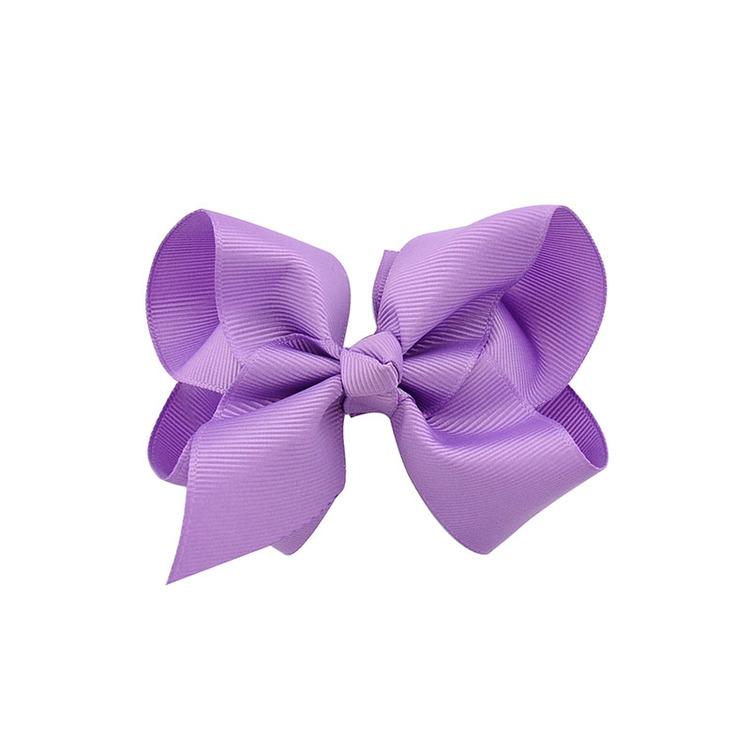Hårklämma - Fancy Bow Lilac
