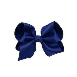 Hårklämma - Fancy Bow Midnight Blue